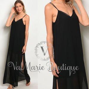 Black maxi